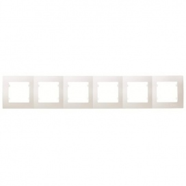 Makel Lillium Οριζόντιο Πλαίσιο 6 Θέσεων Μπεζ (32010706)