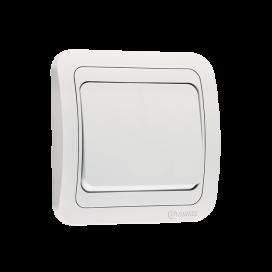 Makel Mimoza Διακόπτης Απλός Λευκός (12101)