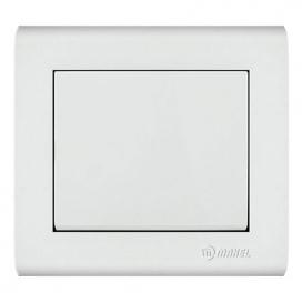 Makel Manolya Διακόπτης Μεσαίος Αλλέ - Ρετούρ Λευκός (41001120)