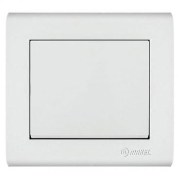 Makel Manolya Διακόπτης Μπουτόν Λευκός (41001104)