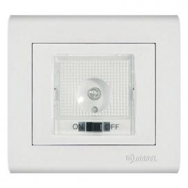 Makel Manolya Διακόπτης Φως Ασφαλείας Λευκό (41001055)