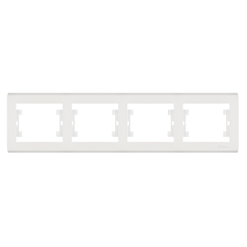 Makel Manolya Οριζόντιο Πλαίσιο 4 Θέσεων Λευκό (41001704)