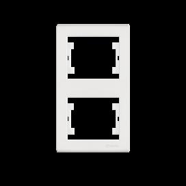 Makel Manolya Κάθετο Πλαίσιο 2 Θέσεων Λευκό (41001707)