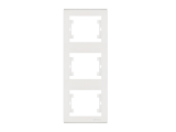 Makel Manolya Κάθετο Πλαίσιο 3 Θέσεων Λευκό (41001708)
