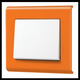 Makel Manolya Μονό Πλαίσιο Πορτοκαλί (41094701)