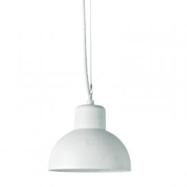 Aca Bero Κρεμαστό Μονόφωτο Φωτιστικό Λευκό (BERO1PWH)