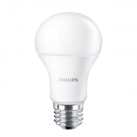 Philips Λάμπα CorePro Led A60 10.5W E27 4000K (510322)