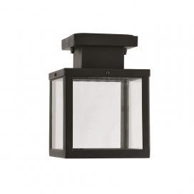 Aca Celia Φωτιστικό Οροφής Μαύρο (CELIA1CBK)