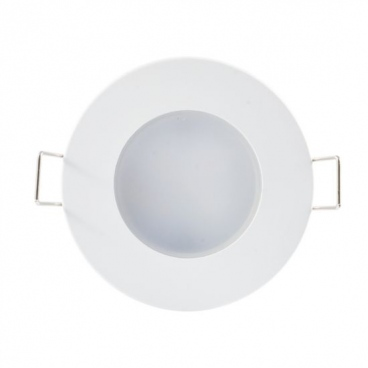 LED SMD ΛΕΥΚΟ χωνευτό φωτιστικό οροφής 5W 120° 3000K (VERA530RW)