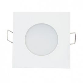 LED SMD ΛΕΥΚΟ χωνευτό φωτιστικό οροφής 5W 120° 3000K (VERA530SW)