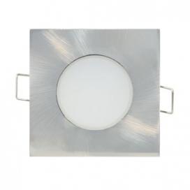 LED SMD ΑΣΗΜΙ χωνευτό φωτιστικό οροφής 5W 120° 3000K (VERA530SNM)