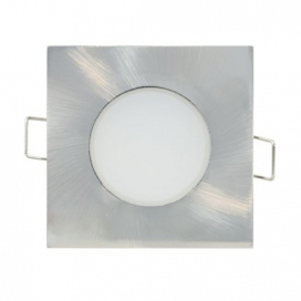 LED SMD ΑΣΗΜΙ χωνευτό φωτιστικό οροφής 5W 120° 4000K (VERA540SNM)