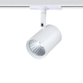 Aca Σποτ ράγας LED COB 2 καλωδίων 12W 4000K Λευκό (ZUNO1240W250)