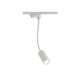 Aca Σποτ ράγας LED COB 2 καλωδίων 12W 3000K Λευκό (OLIV1230W250)