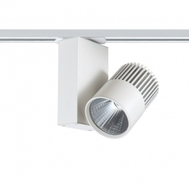 Aca Σποτ ράγας LED COB 2 καλωδίων 25W 3000K Λευκό (BIENAL2530W250)