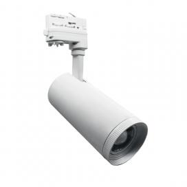 Aca Σποτ ράγας LED COB 4 καλωδίων 10W 3000K Λευκό (AIMY1030W4)