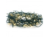 100 Led (3mm) Θερμά με Πράσινο Καλώδιο & Πρόγραμμα (100WW44T8FG)