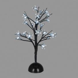 Επιτραπέζιο Δέντρο 25 Led Ψυχρά (XCHERRYLEDW45)