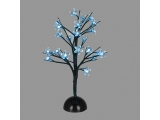 Επιτραπέζιο Δέντρο 25 Led Μπλε (XCHERRYLEDBL45)