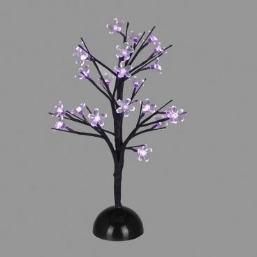 Επιτραπέζιο Δέντρο 25 Led Μωβ (XCHERRYLEDPU45)