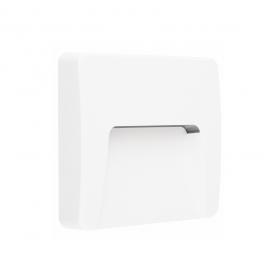 Aca LED SMD επίτοιχη απλίκα Λευκή 3W (SLIM42W)