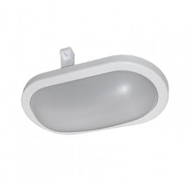 Adeleq Επιτοίχιο Φωτιστικό 10W 4000K Λευκό (21-1701010)