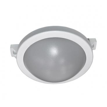 Adeleq Επιτοίχιο Φωτιστικό 10W 4000K Λευκό (21-1721010)