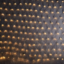 240 Led (5mm) Λαμπάκια Δίχτυ Θερμά με Πράσινο Καλώδιο (N240WWE44TG)