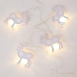 10 Led (5mm) Θερμά Λαμπάκια Metal Reindeer (XB10WW2A)