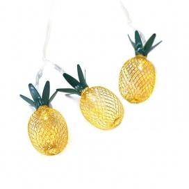 10 Led (5mm) Θερμά Λαμπάκια Metal Pineapple (PINEAPPLE10WW2A)