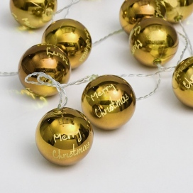 10 Led (5mm) Θερμά Λαμπάκια Plastic Balls (XPGBALL10WW2A)