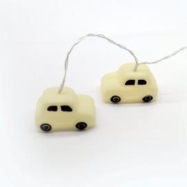 10 Led (5mm) Θερμά Λαμπάκια Silicon White Car (FPCAR10WW2A)