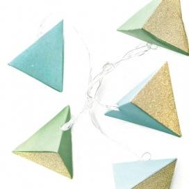 10 Led (5mm) Θερμά Λαμπάκια Paper Green Triangle (XN10WW2A)