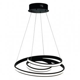 InLight Led Κρεμαστό Φωτιστικό 40W Μαύρο (6148B)