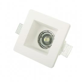 InLight Χωνευτό Τετράγωνο Φωτιστικό Σταθερό GU10 (X0001)