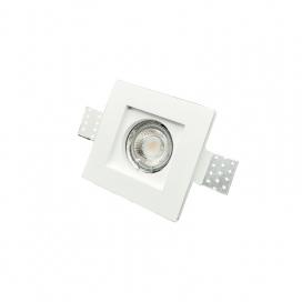 InLight Χωνευτό Τετράγωνο Φωτιστικό Σταθερό GU10 (X0005)