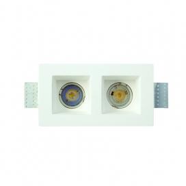 InLight Χωνευτό Τετράγωνο Φωτιστικό Σταθερό GU10 (X0007)