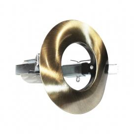 Σποτ Χωνευτό Στρογγυλό R50 E14 Νίκελ Μπρονζέ (AC.045R50GAB)
