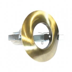 Σποτ Χωνευτό Στρογγυλό R50 E14 Νίκελ Χρυσό Ματ (AC.045R50GM)
