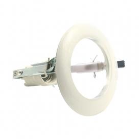 Σποτ Χωνευτό Στρογγυλό R80 E27 Λευκό (AC.045R80W)