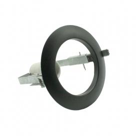 Σποτ Χωνευτό Στρογγυλό R80 E27 Μαύρο (AC.045R80B)