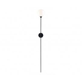 Luma Επιτοίχιο Φωτιστικό Μαύρο (100-01204-19)