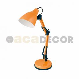 Aca Φωτιστικό Γραφείου Πορτοκαλί (2918OR)