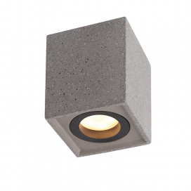 Aca Μονόφωτο Φωτιστικό Οροφής Μαύρο (MK131S10B)