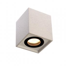 Aca Μονόφωτο Φωτιστικό Οροφής Λευκό (MK131S10W)