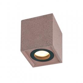 Aca Μονόφωτο Φωτιστικό Οροφής Κόκκινο (MK131S10R)
