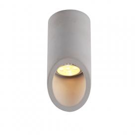 Aca Μονόφωτο Φωτιστικό Οροφής Γκρι 16cm (MK151S16G)