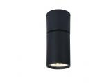 Aca Μονόφωτο Φωτιστικό Οροφής - Τοίχου Μαύρο (RA301S6BK)