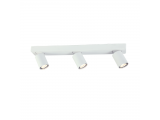 Aca Τρίφωτο Φωτιστικό Οροφής - Τοίχου Λευκό (RA303S54WH)