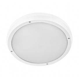 Στεγανή Πλαφονιέρα Οροφής Λευκή (21-8010)